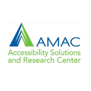 AMAC Accessibility Solutions and Research Center Logo