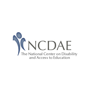 The National Center on Disability and Access to Education Logo