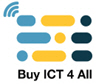 The Buy ICT For All Logo