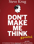 Don't make me think (Book Cover Thumbnail)