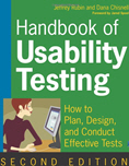 Handbook of Usability Testing (Book Cover Thumbnail)